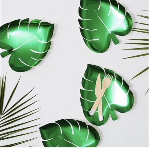 Palm Leaf plate 2