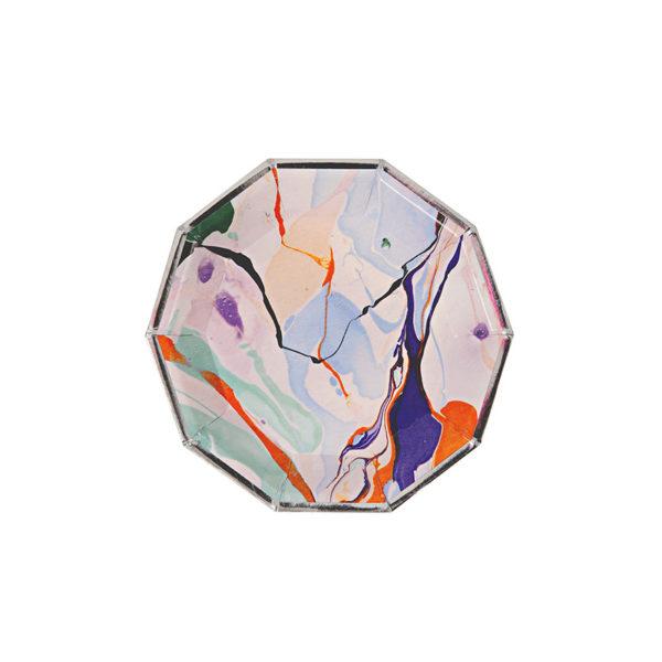 marble kanape plate