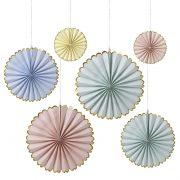 pastel pinwheel decorations
