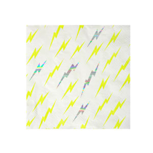 super hero zap small napkin