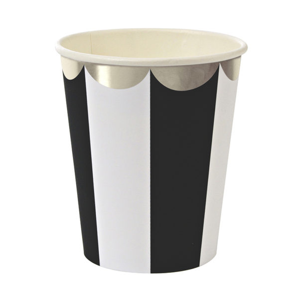 black stripe cup