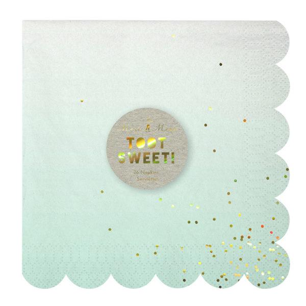 ombre napkin 1