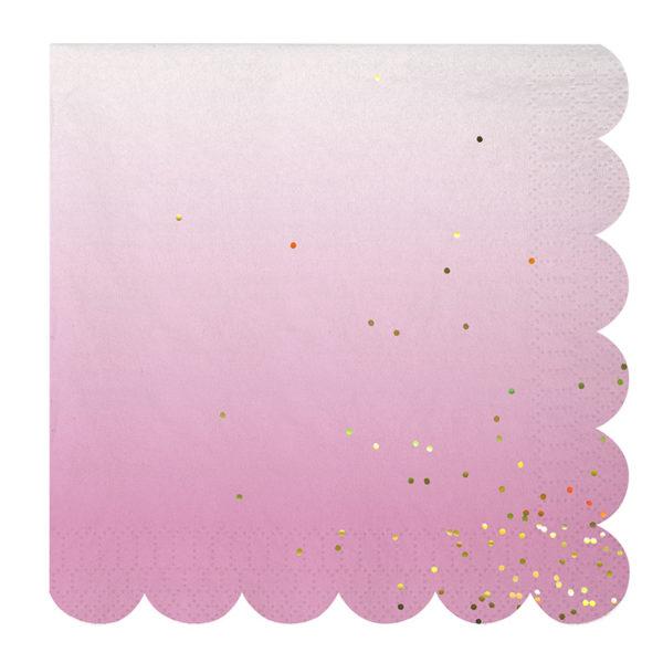 ombre napkin 4