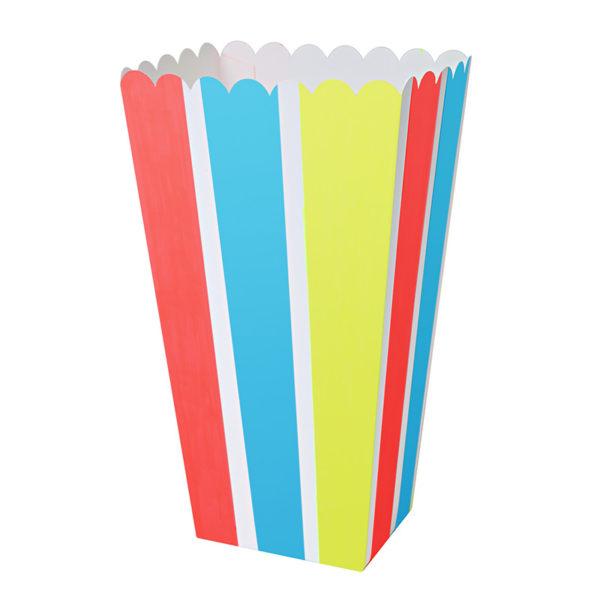 pop corn stripe box