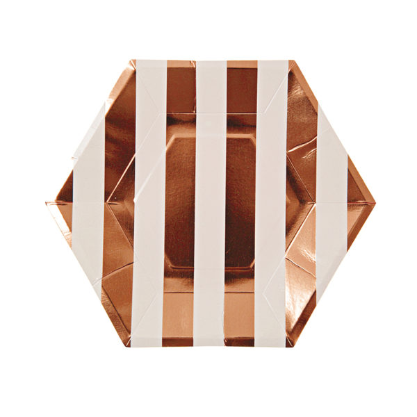 rosegold plate