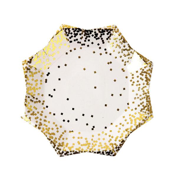 confetti plate