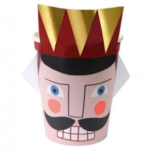 gold nutcracker cups