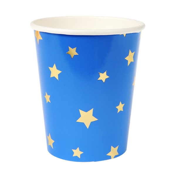 jazzy blue cup