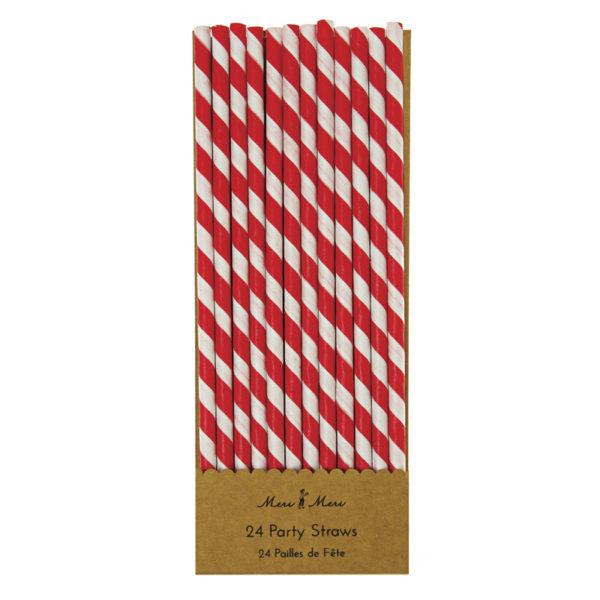 red straws