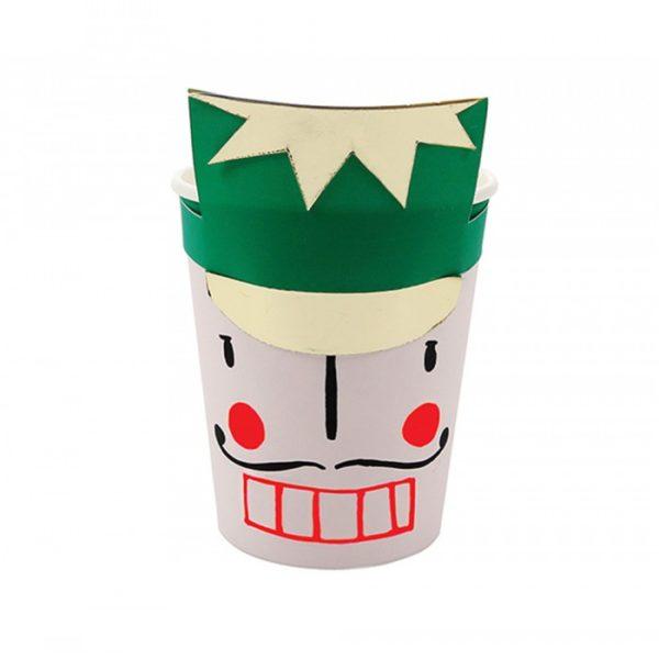 silver cups nutcracker