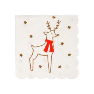 reinder napkins