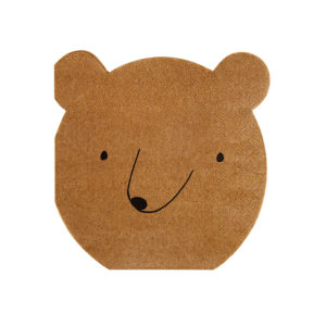bear napkins
