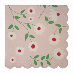 princess party small napkin